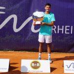 Tomas Barrios Vera holt seinen ersten ATP Titel bei den Rhein Asset Open